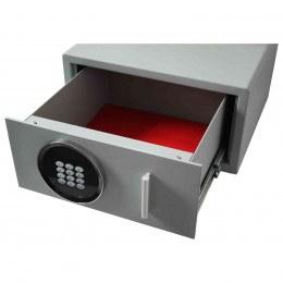 Securikey Euro Vault SFEV-DR12-TZE Electronic Wardrobe Safe - drawer open showing cushioned base