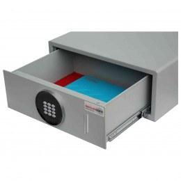 Securikey Euro Vault SFEV-DR17-TZE Electronic Wardrobe Safe - drawer open