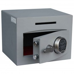 Securikey Mini Vault Silver 1 Deposit Safe Digital lock - Door Ajar