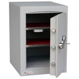 Securikey Mini Vault Silver 2K Key Lock £4000 Rated Safe
