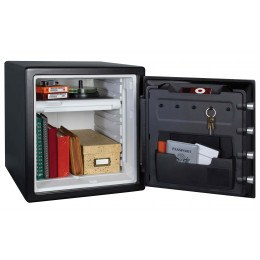 Sentry Safe SFW123FTC 1 Hour Fire and Water Electronic Safe - Door Open