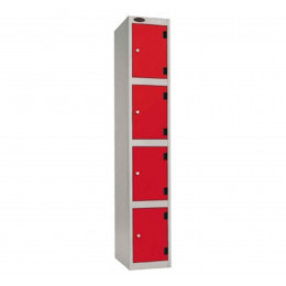 Four Tier Inset Laminate Door Locker - Probe SHOCKBOX