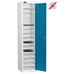 Probe Lapbox 15ST Laptop Storage Locker 15 Compartments - Blue