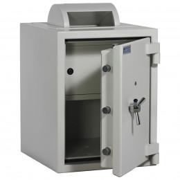 Rotary Deposit Safe £6000 - Dudley Eurograde 0 Size 2 - door ajar