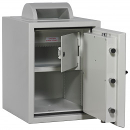 Dudley Europa £60,000 Rotary Drop Security Safe Size 2 doors open