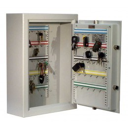 High Security Key Lock 50 Key Bunches Storage Safe - Securikey KSD50K