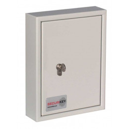 Securikey Key Vault KV030 Key Cabinet Euro Key Lock 30 Keys