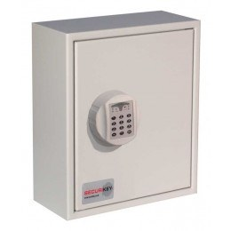 Securikey Key Vault KVP024ZE Padlock Cabinet with an Electronic lock to store  28 Padlocks