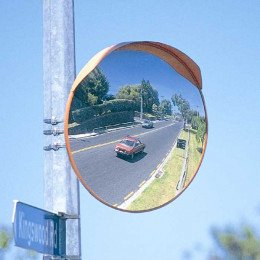 Heavy Duty Deluxe Exterior Mirror 800mm - Securikey M18087D