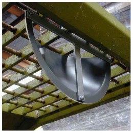 Securikey Interior Rear Vision Fork Lift T-Bar Mirror rear fixing