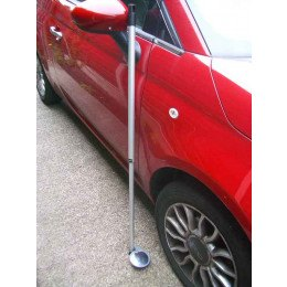 Securikey Two Part Portable MOT Convex Inspection Mirror Set