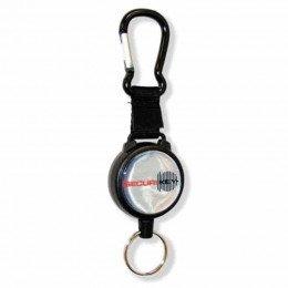 Keybak Securit Karabiner Key Reel 60cm steel chain closed