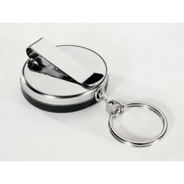 KEY-BAK Spring Belt Clip Key Reel 120cm Kevlar Cord