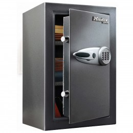 Master Lock T6-331 Digital Electronic Security Safe - door ajar