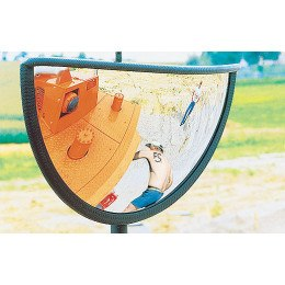 Plant Machinery Safety Mirror 180 Degrees - Vialux 418