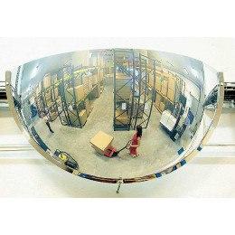 Vialux 51-114 Wall Unbreakable Convex Racking Mirror 1140mm