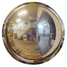 Wall or Pallet Racking Fixed Dome Safety 57cm Mirror - Vialux 56-57