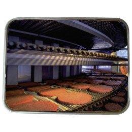 Food | Heat Resist Stainless Steel Post Mirror 80x60cm | Vialux 829
