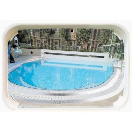 Outdoor Swimming Pool Convex Safety Mirror - Vialux