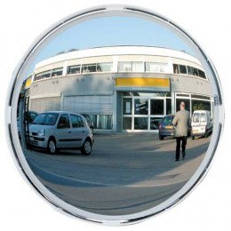 Vialux 9060 Blindspot Convex Mirror 600mm Diameter face on