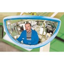 Fork Lift Truck Front View Safety Mirror - Vumax 410