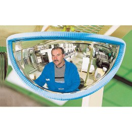 Vialux Vumax 410 Fork Lift Truck Front View Safety Mirror