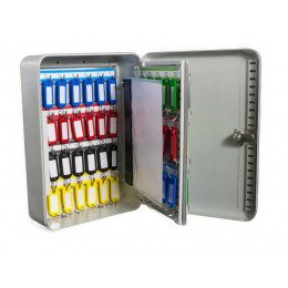 Safe Saver Key Systems Cabinet 58 hooks Combination Lock open