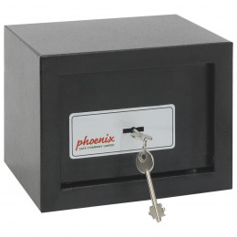 Phoenix SS0721K Compact Home Office Safe - door locked