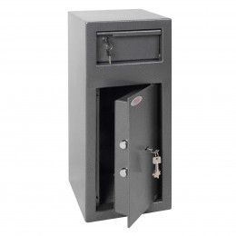 Phoenix SS0992K Cash Day Deposit Safe door ajar