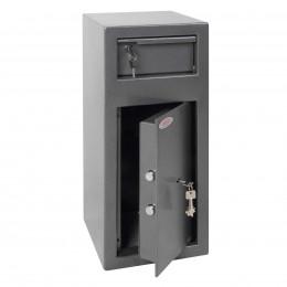 Phoenix SS0992K Cash Day Deposit Safe door ajar