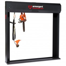 Armorgard Strimmer Safe Rack - Open Prop