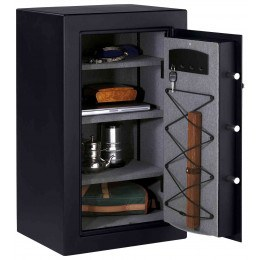 Master Lock T0-331 Digital Electronic Security Safe - door wide open