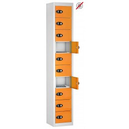 10 Door Tablet Storage Locker - Probe TABBOX 10D