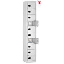 Probe TABBOX 10 Door USB Charging Tablet Locker - White