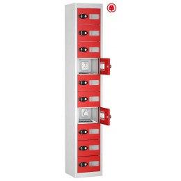 Probe TABBOX 10 Tablet USB Charging Vision Locker - Red Door