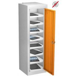 Probe TABBOX 1 Door  8 Shelf Tablet Storage in orange