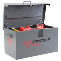 Armorgard Tuffbank Security Van Box TB1 open