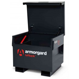 New Armorgard Tuffbank Site Tool Security Box TB21 - 765mm wide - open