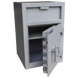 Burton Teller V-Trap  Drawer Deposit Safe Size 2 Key Lock - door open