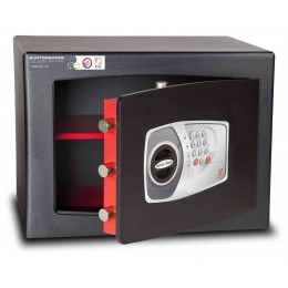 £4000 Cash Digital Security Safe - Burton Torino NMT/5P - door ajar