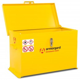 Armorgard Transbank TRB4C Portable Chemical Storage Chest - Open