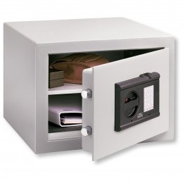 Burg Wachter Cityline C1EFS Fingerscan Electronic Locking Security Safe - Door Ajar