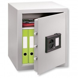 Burg Wachter Cityline C4EFS Fingerscan Electronic Locking Security Safe - Door Ajar
