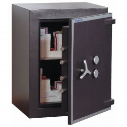 ChubbSafes Trident 170 - open showing content of safe