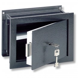 Wall Security Safe - Burg Wachter Size 2 Karat Key Locking