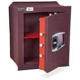 Burton Unica 2E £6,000 Digital Wall Security Safe - door ajar