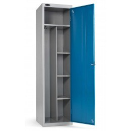 Probe Uniform Locker 1780x460x460mm blue door open