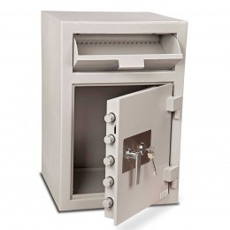 Burton Teller V76 Deposit Cash Safe all doors open