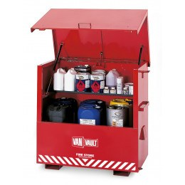 Van Vault Fire-Store Flammable Liquids Large Site Secure Storage Chest