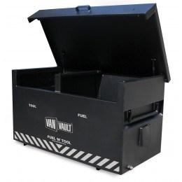 d2f834f1d9 Flammable   Security Site Box - Van Vault Fuel n Tool